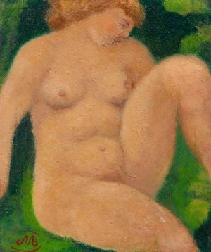 Baigneuse assise by Aristide Maillol contemporary artwork