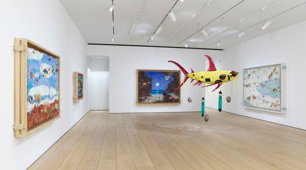 """Ashley Bickerton<br><em>In Focus: Ashley Bickerton</em><br><span class=""""oc-gallery"""">Lehmann Maupin</span>"""