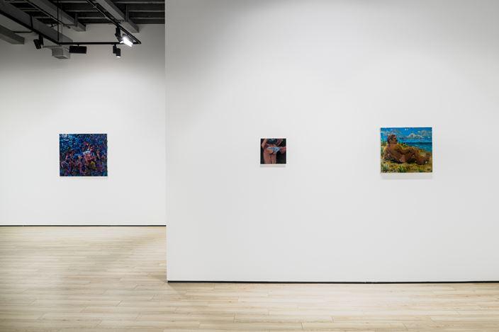 Exhibition view: Todd Bienvenu,Halcyon Days,Almine Rech, Shanghai (19 June–8 August 2020). Courtesy the Artist and Almine Rech.