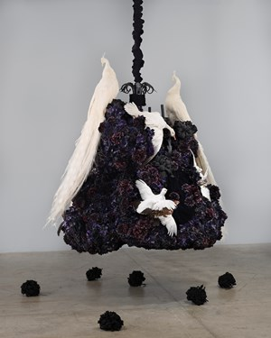 Untitled #1375 (No Reason Except Love: Portrait of a Marriage) by Petah Coyne contemporary artwork
