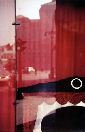 White Circle by Saul Leiter contemporary artwork