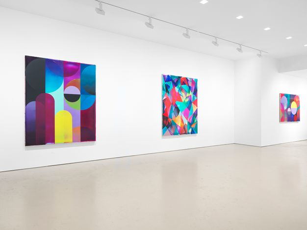 Exhibition view: Shannon Finley, Cascade, Miles McEnery Gallery, West 21st Street, New York (1 April–8 May 2021). Courtesy the artist and Miles McEnery Gallery, New York, NY.Photo: Christopher Burke Studio.