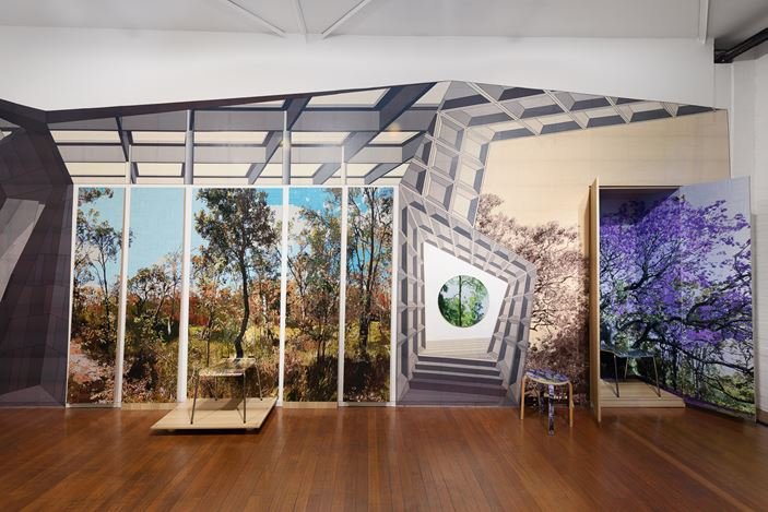 installation view, Gary Carsley:ARBOUR ARDOUR, Roslyn Oxley9 Gallery, Sydney (30 October – 28 November 2020). photo: Luis Power
