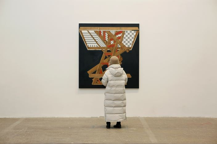 Exhibition view: Michael Zelehoski, All of This and Nothing, Tang Contemporary Art, Beijing (4 January–29 February 2020). Courtesy Tang Contemporary Art.