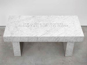 Selection from Survival: It is in your self-interest... by Jenny Holzer contemporary artwork