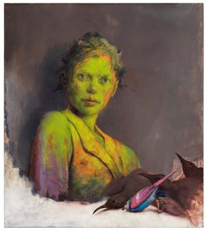 Schleiche by Jonas Burgert contemporary artwork