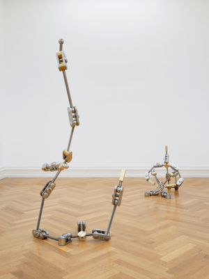 Mr Modern Classical Conceptualist is no longer talking to himself (Dramaturgical framework for structure and stability) by Ryan Gander contemporary artwork