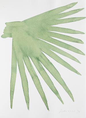 Untitled (Leaf Study 4) by William Turnbull contemporary artwork