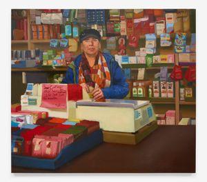 Dear Customer by Sylvia Maier contemporary artwork