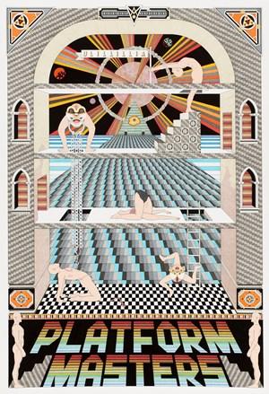 Platform Masters by Jess Johnson contemporary artwork