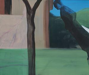 Sans titre (Jardins obscurs #14) by Marc Desgrandchamps contemporary artwork