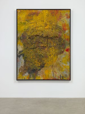 Untitled (Shibu) by Shozo Shimamoto contemporary artwork