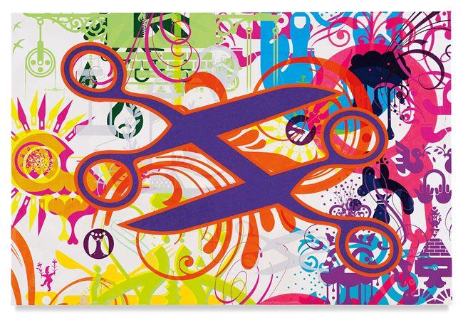 Mindscape 70 by Ryan McGinness contemporary artwork