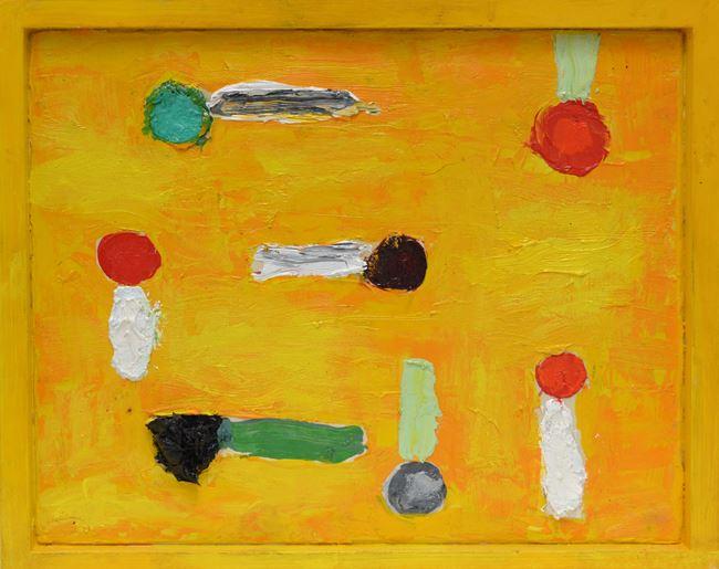 Astri fatati sentimentali by Nicola De Maria contemporary artwork