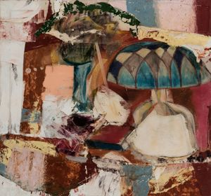 Lamp and Vase by Michael Goldberg contemporary artwork