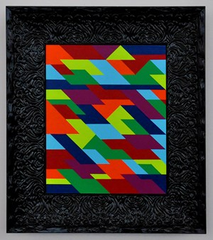 order and systems, synthetic patchwork dreams by Emma Coulter contemporary artwork