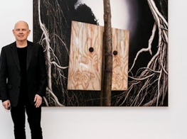 Andrew Browne, winner of the Geelong Contemporary Art Prize