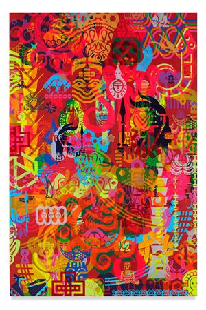 Taipei Dangai 4 by Ryan McGinness contemporary artwork