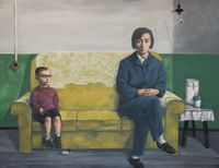 My Mother by Zhang Xiaogang contemporary artwork painting