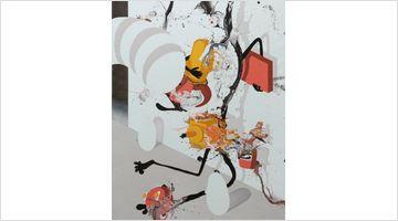 Contemporary art exhibition, José Castiella, Falling at rosenfeld, London