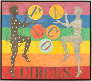 Circus by Robert Indiana contemporary artwork