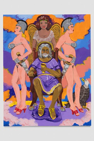 Oh Byzantium, Oh! by Robert Colescott contemporary artwork