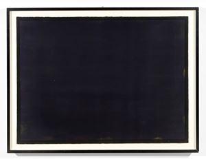 Black Watercolour 25.1.88 by Bob Law contemporary artwork