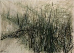 Leaves of Grass #17 by Wang Gongyi contemporary artwork
