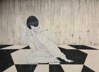 Ikaros by Yu Kawashima contemporary artwork painting, works on paper, drawing