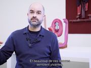 Video of the exhibition 'Ramus' by Matthew Ronay