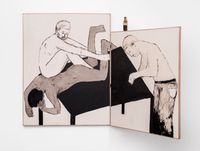 To break the legs of the table by Brett Charles Seiler contemporary artwork works on paper