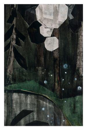 Last snow II by Iris Schomaker contemporary artwork