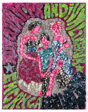 Nunquam Prandium Liberum by José Lerma contemporary artwork