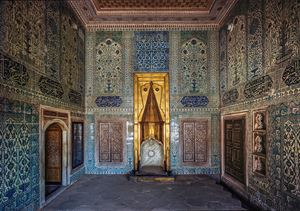 Room of the Crown Princes, Topkapi Palace Harem by Ahmet Ertug contemporary artwork