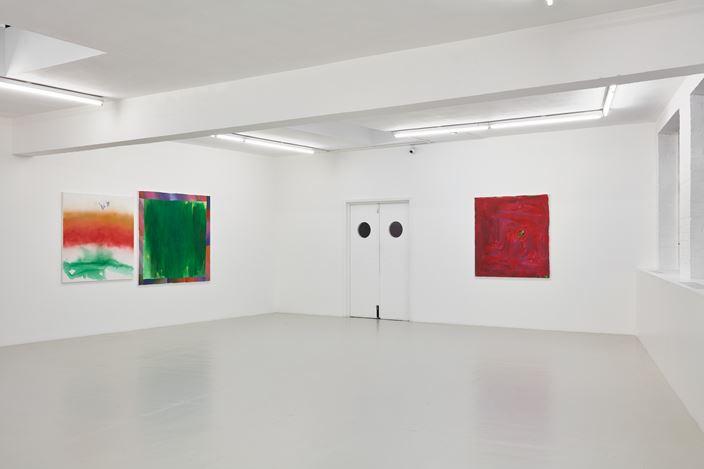 Exhibition view: Rochelle Feinstein, Rainbow Room / The Year in Hate, Campoli Presti, London (30 September–21 December 2018). Courtesy Campoli Presti.