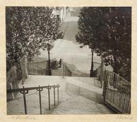 Stairs, Montmartre by André Kertész contemporary artwork photography