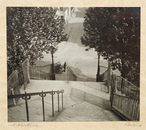 Stairs, Montmartre by André Kertész contemporary artwork