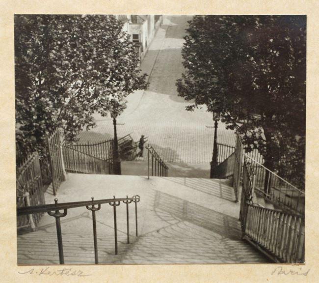 Stairs, Montmartre by André Kertész contemporary artwork