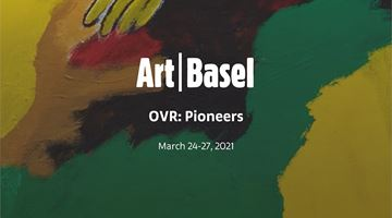 Contemporary art exhibition, Art Basel OVR: Pioneers at Galerie Thomas Schulte, Berlin