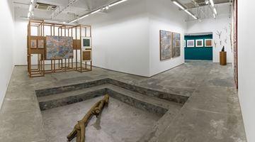 Contemporary art exhibition, Adip Dutta & Meera Mukherjee, Nestled at Experimenter, Hindustan Road, India