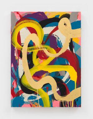 Labyrinth by Max Gimblett contemporary artwork
