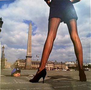 Celine Hosiery, Place de la Concorde by Jean-Daniel Lorieux contemporary artwork