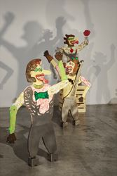 Heri Dono, Zaman Edan (The Age of Craziness), 2016, Exhibition view, STPI, Singapore. Courtesy STPI, Singapore.