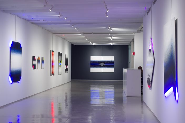 Exhibition view: Golnaz Fathi,Let's Pretend Everything is All Right, Sundaram Tagore Gallery, Chelsea, New York (14 November 2019–14 December 2019). Courtesy Sundaram Tagore Gallery.