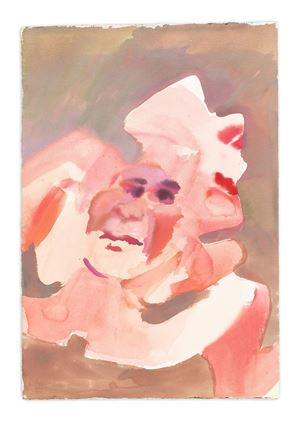 Ohne Titel (Untitled) by Maria Lassnig contemporary artwork