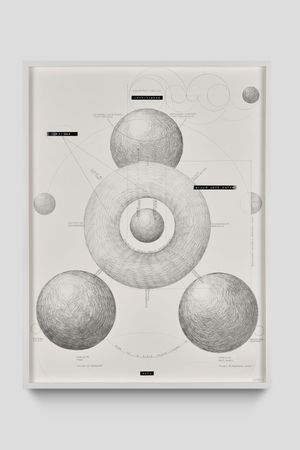 untitled (schema) by Nolan Oswald Dennis contemporary artwork painting, works on paper, drawing