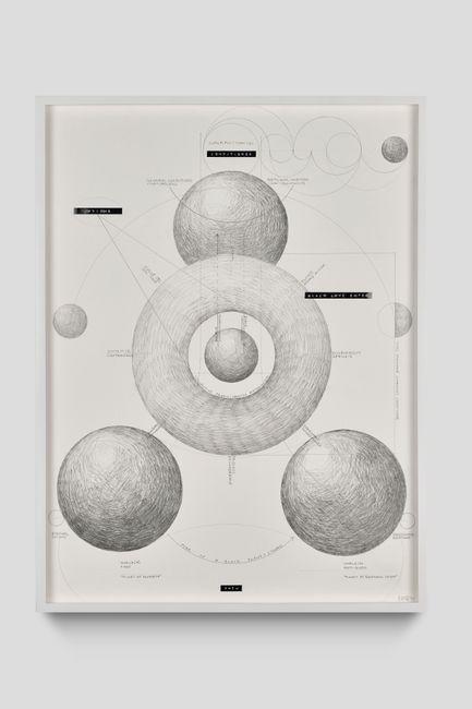 untitled (schema) by Nolan Oswald Dennis contemporary artwork