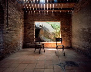 Dining Table No.3, YSC Shuinandong Residence by Yeh Wei-Li contemporary artwork