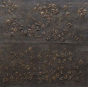 Skull Wall Panel by Jake & Dinos Chapman contemporary artwork