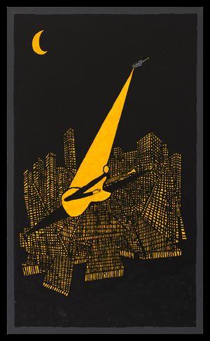 Night (Music City) by Derek Boshier contemporary artwork